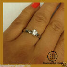2.00 Ct Round Cut  Solitaire Engagement Ring Solid in 14k White Gold