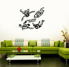 Vinyl Sticker Skydiving Parachute Jump Extreme Sports Wall Decal (ig3170)