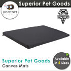 Superior Pet GS-Canvas Water Resistant Dog Mat Puppy Pet Bed Futon Crate Kennel
