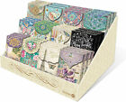 Punch Studio Collection Decorative Pouch Note Cards Assorted Designs