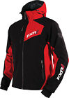 FXR Mens Black/Red Snowmobile Recoil Softshell Jacket Snocross