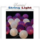 Christmas String Lights Battery Powered For Home Party 20LED Ball Bulb Outdoor