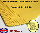 A4 Heat Toner Transfer Paper, Laser Printer, for DIY PCB Prototyping - UK Stock <br/> Packs of 5, 10 &amp; 20