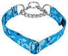 Country Brook Petz™ Blue Bone Camo Half Check Dog Collar