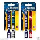 DOCTOR WHO Festival Wristbands Set of 2 OFFICIAL Christmas Stocking Filler Dr