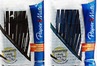 10 PACK PAPER MATE BALLPOINT PEN  WRITE BROS. SCHOOL STATIONERY BLACK/BLUE