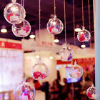 10PCs Plastic Balls Transparent Christmas Tree Ornament Decor Clear Can Open Box
