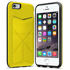 iPhone 5 s 6 6s Plus Transformer Case Cover Skin Kickstand with Credit Card Slot