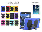 For iPad Mini 4 Heavy Duty Shock Proof case/Screen Protector
