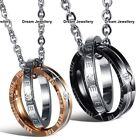 Engagement Rings Necklaces Boyfriend Girlfriend Jewellery Xmas Gifts for Him Her