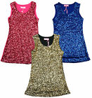 Girls Hoogy Googy Sequin Front Glitzy Party Fashion Sparkle Dress 3 to 12 Years