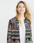 Zara Multi Embroidered Beaded/sequin Blazer/jacket Size S..bloggers ..sold Out