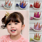 Baby Girl Crown Pearl Princess Hair Clip Party Accessories Hairpins Jewelry Gift
