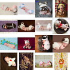 Newborn Boys Girls Baby Crochet Knit Costume Photography Photo Props Outfit USA