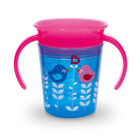 Munchkin Miracle Trainer Cup Decor 360&deg; Sippy Cup Anti Spill Baby Cup New 2017 <br/> Authorized Seller. Full Range Munchkin 360 Cups, Fast D