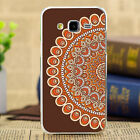 Retro Painted Pattern Hard Back Case Cover For Samsung Galaxy Note 5 4 3 2 Phone