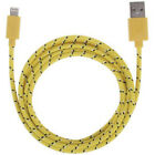 10FT Fabric Braided Charger Cable USB Data FOR apple iPhone X 8 7 6 plus 5s ipod