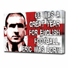 LARGE ERIC CANTONA FOOTBALL CANVAS ART PRINT 0302