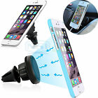 Universal Car Magnetic Air Vent Mount Holder For iPhone 6S Samsung S6 Edge Plus