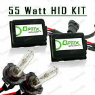 55W Slim HID Lights Xenon Head Light Kit Plug N Play Bulb Size - 9006 HB4