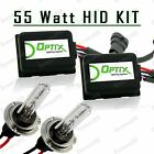 55W HID High Beam Lights Xenon Light Slim Kit Plug N Play Bulb - H7 (E)