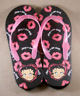Betty Boop 'Boop-oop-a-doop! Womens Flip Flops Sandals Shoes NWT Size: S, M, L $9.99 USD on eBay
