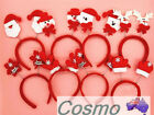 Christmas Xmas Novelty Headband Hat Costume Hair Band Adult Kids Children Family