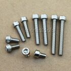 Select size M2 - M4 L:4 - 90mm Stainless Steel Allen Hex Socket Head Cap Screws