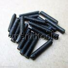 20Pcs Screws Select M2 - M4 Slotted Head Cup Point Set Screws Select size