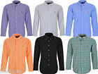 Polo Ralph Lauren uomo camicia casual maniche lunghe custom fit men shirt
