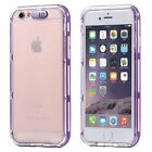 For iPhone LED Flash Light UP Remind Incoming Call Slim Clear PC Back Case Cover