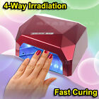 36W LED Light Lamp UV Nail Art Dryer Curing CCFL Gel Gelish Timer Acrylic Polish