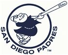 San Diego Padres #8 MLB Team Logo Vinyl Decal Sticker Car Window Wall Cornhole on Ebay