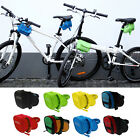 Outdoor Cycling Bike Bicycle Seat Saddle Rear Seat Bag Tail Pouch Storage YA