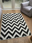 Malmo 1503 X Flatweave Monochrome Anti-Slip Rug in various sizes and runner