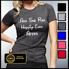 And She Ran Happily Ever After Shirt, Marathon Tshirt, Running T-shirt