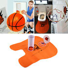 Funny Potty Putter Toilet Time Mini Golf/Soccer/Basketball Game Gift Toy Mat e#