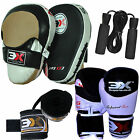 Curved Boxing Gloves Hand Wraps Focus Curved Pads Strike Shields Thai Sparring
