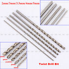 New Straight Shank High Speed Steel 2-5mm Extra Long 160mm Twist Drill Bit Tool