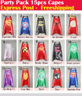 Party Pack - 15pcs superhero capes for kids Birthday party supplies (Only Capes)