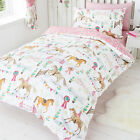 Showtime Horse Pony Show Jumping Prize Daisy Reversible Duvet Cover Set