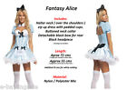 Sexy Alice in Wonderland Costume Halloween Fairy Tale Fairytale Book Theme