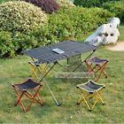 Portable Indoor Outdoor Folding Foldable Camping Beach Fishing Desk And Chair
