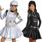 Girls Star Wars Force Awakens Fancy Dress Costume Book Week Child Kids Outfit