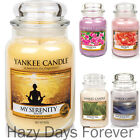 NEW 2016 YANKEE CANDLE LARGE JAR Fresh, Floral Fragrances 22oz BUY 2 SAVE £2