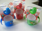 PHILIPS AVENT HARD SPOUT TRAINER CUP 260ML/90Z 12M+ 3 COLOURS TO CHOOSE BPA FREE