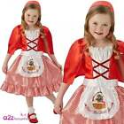 Red Riding Hood Kids Girls Fancy Dress Costume World Book Day Storybook 5-10 Yrs