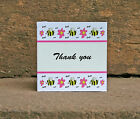 Cute Bumble Bee Thank You Card for Kids Adults Kitsch Woodland Original Design