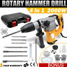 2000W Demolition Jack Hammer Rotary Commerical Electric Jackhammer Drill Chisel