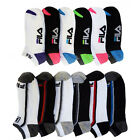 6 Pairs: Fila Shock Dry Low Cut Kid's Socks
